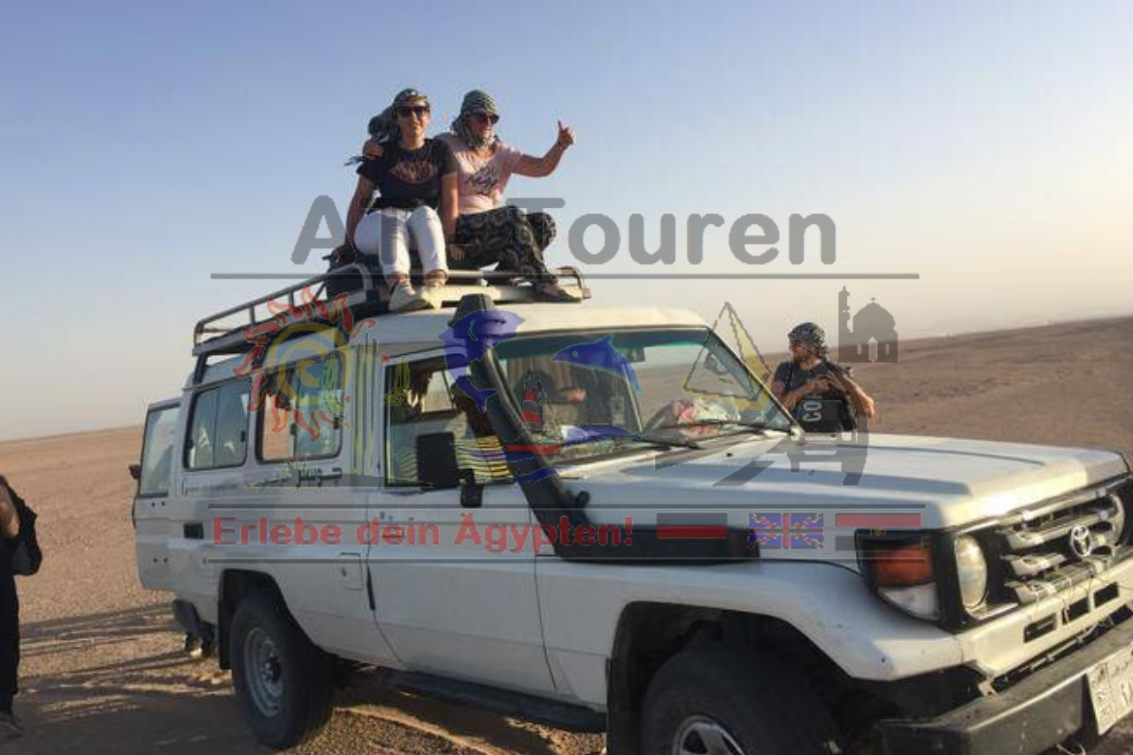 Jeep Tour Hurghada - Wüstensafari mit AT-Touren