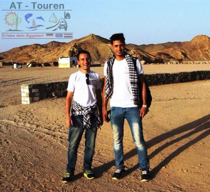 Ausflüge ab Hurghada mit AT-Touren - Timo Krebs & Mohammed Nazim