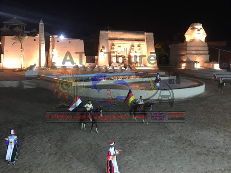 1001 Nacht Fantasia Show in Hurghada