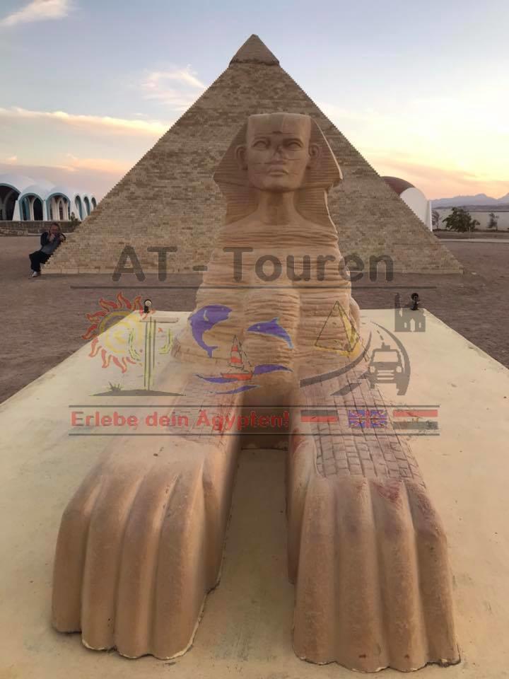 Ausflug zum Minipark Ägypten